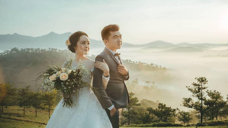 Chụp hình cưới Đà Lạt vào tháng mấy trong năm?